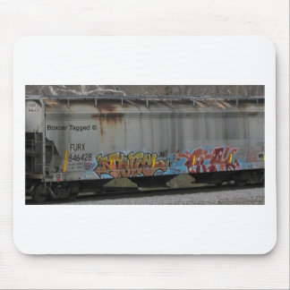 Train Tagged Mouse Pads