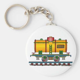 Train Tank Car Railroad Key Chains