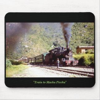 'Train to Machu Picchu' Mouse Mat