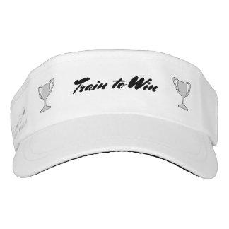 Train to win sports exercise visor