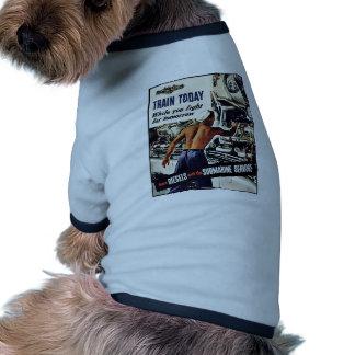 Train Today Pet Tee Shirt