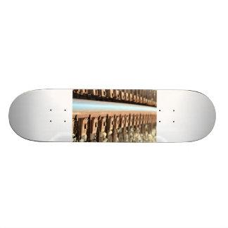 Train Track Skateboard