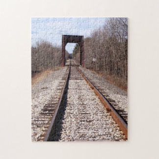 Train Tracks Jigsaw Puzzle