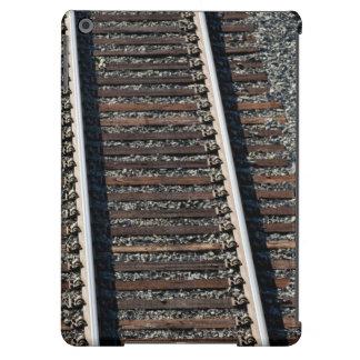 train tracks on gravel case for iPad air