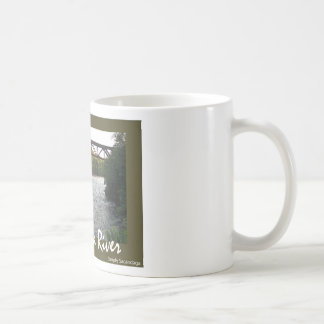 Train Trestle Basic White Mug