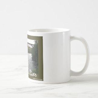 Train Trestle Classic White Coffee Mug