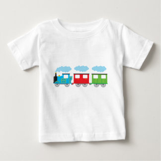 Train & Two Carriages Baby T-Shirt