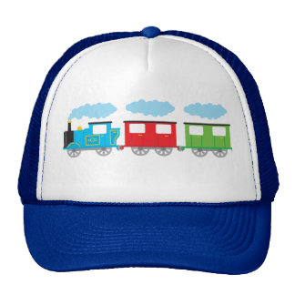 Train & Two Carriages Cap