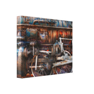 Train - With age comes beauty Gallery Wrapped Canvas