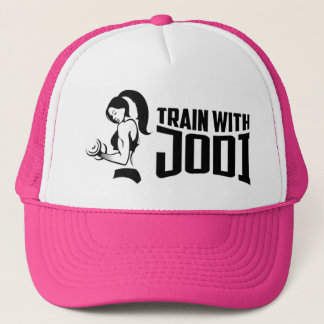 Train With Jodi Trucker Hat