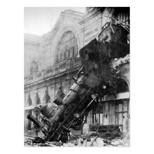 Train Wreak Postcard