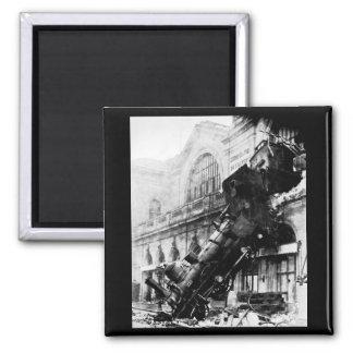 Train Wreck at Montparnasse , 22 October 1895 Magnet