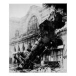 Train Wreck at Montparnasse,  22 October 1895 Poster