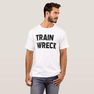 Train Wreck Tee for Men