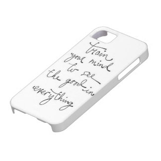 Train your mind iPhone 5 covers