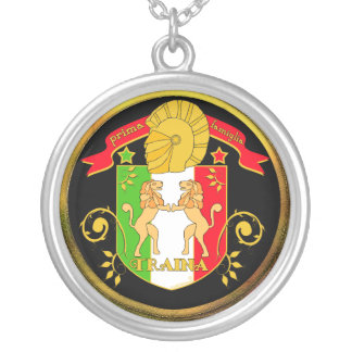 Traina Family Crest Pendant