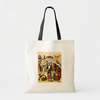 Trained Dog Act 1899 - Vintage Circus Act Poster Bags