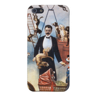 Trained Dog Act c 1899 iPhone 5 Case