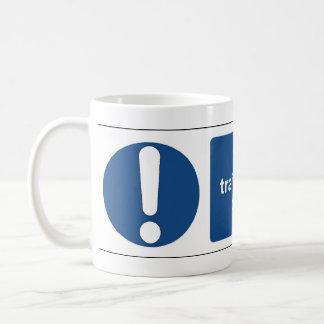 trained personnel coffee mug