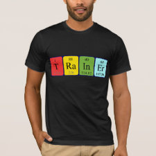 Periodic table Trainer shirt