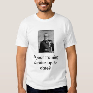 Training binder shirts