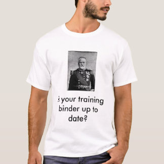 Training binder T-Shirt