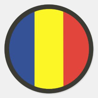 Training & Doctrine Command Round Sticker