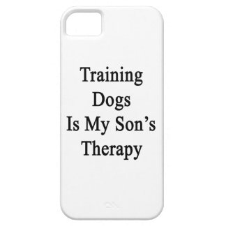 Training Dogs Is My Son s Therapy iPhone 5/5S Case
