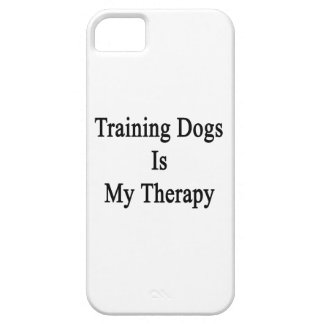 Training Dogs Is My Therapy iPhone 5/5S Covers