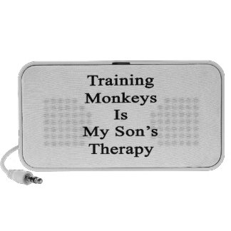 Training Monkeys Is My Son's Therapy Mini Speaker