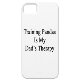 Training Pandas Is My Dad's Therapy iPhone 5 Case