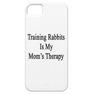 Training Rabbits Is My Mom's Therapy iPhone 5 Case
