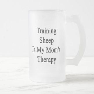Training Sheep Is My Mom s Therapy Coffee Mugs