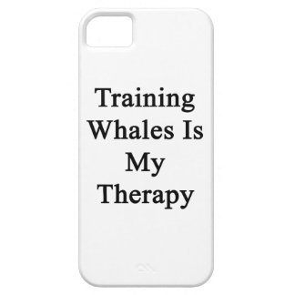 Training Whales Is My Therapy iPhone 5 Case
