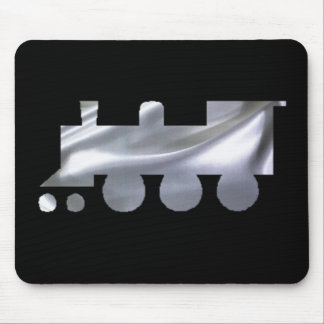 TRAINS A COMING. MOUSE PAD