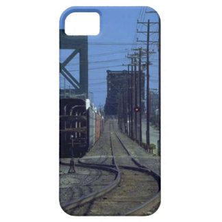 Trains and tracks - Bends and bridge iPhone 5 Cases