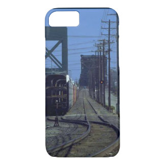 Trains and tracks - Bends and bridge iPhone 8/7 Case