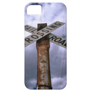 Trains and tracks - Crossing iPhone 5 Cases