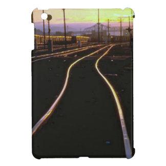 Trains and tracks - Shining tracks iPad Mini Covers