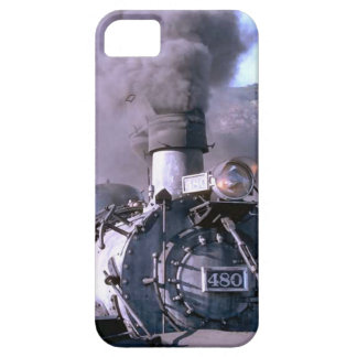Trains and tracks - steam train iPhone 5 covers