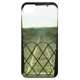 Trains and tracks - The track ahead iPhone 5 Covers