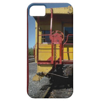 Trains and tracks - traditional rail road car case for the iPhone 5