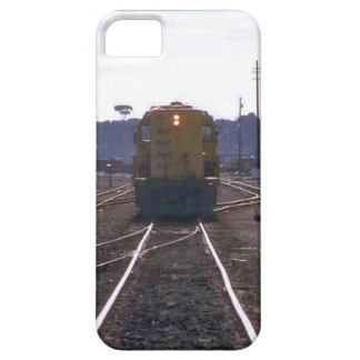 Trains and tracks - train coming iPhone 5 cases