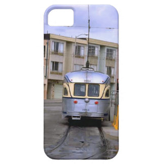 Trains and tracks - Tram in town iPhone 5 Cover