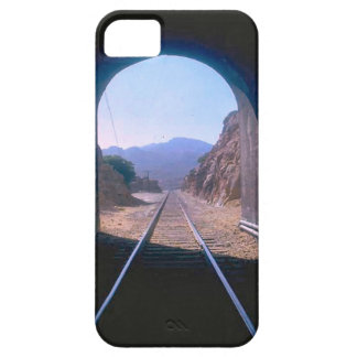 Trains and tracks - Tunnel vision iPhone 5 Cover
