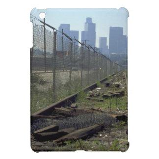 Trains and tracks - Waste land iPad Mini Cover