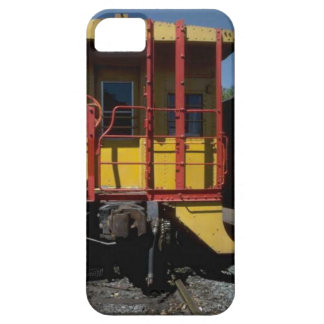 Trains and tracks - wooden rail road car barely there iPhone 5 case