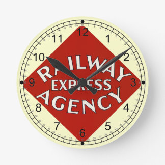 Trains Can Send Your Bags ahead by Railway Express Round Clock