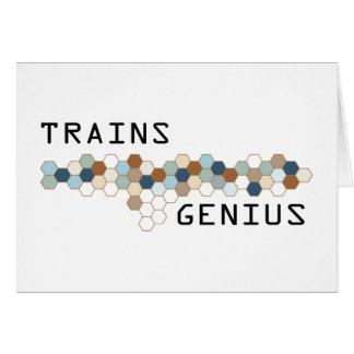 Trains Genius Cards
