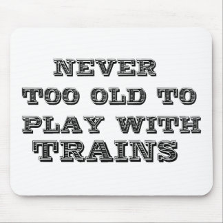 Trains Mouse Mat